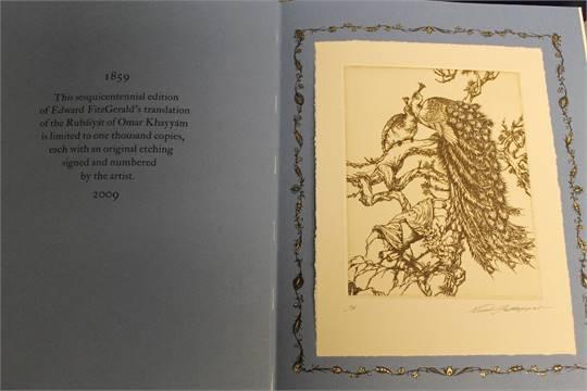 Rubaiyat etching