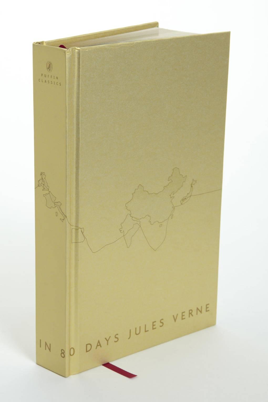 Around the World in 80 Days designed by David Adjaye | Puffin 70th Anniversary Limited Edition series – beautifulbooks.info