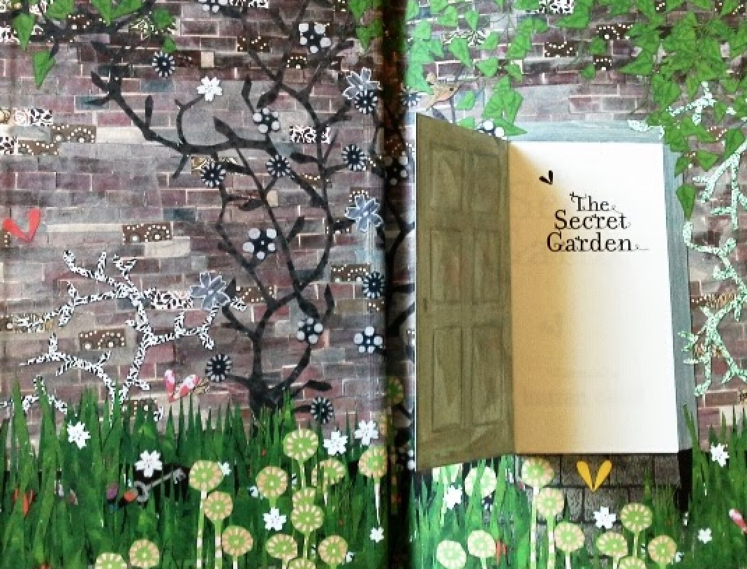 Secret Garden by Lauren Child (standard ed) | beautifulbooks.info