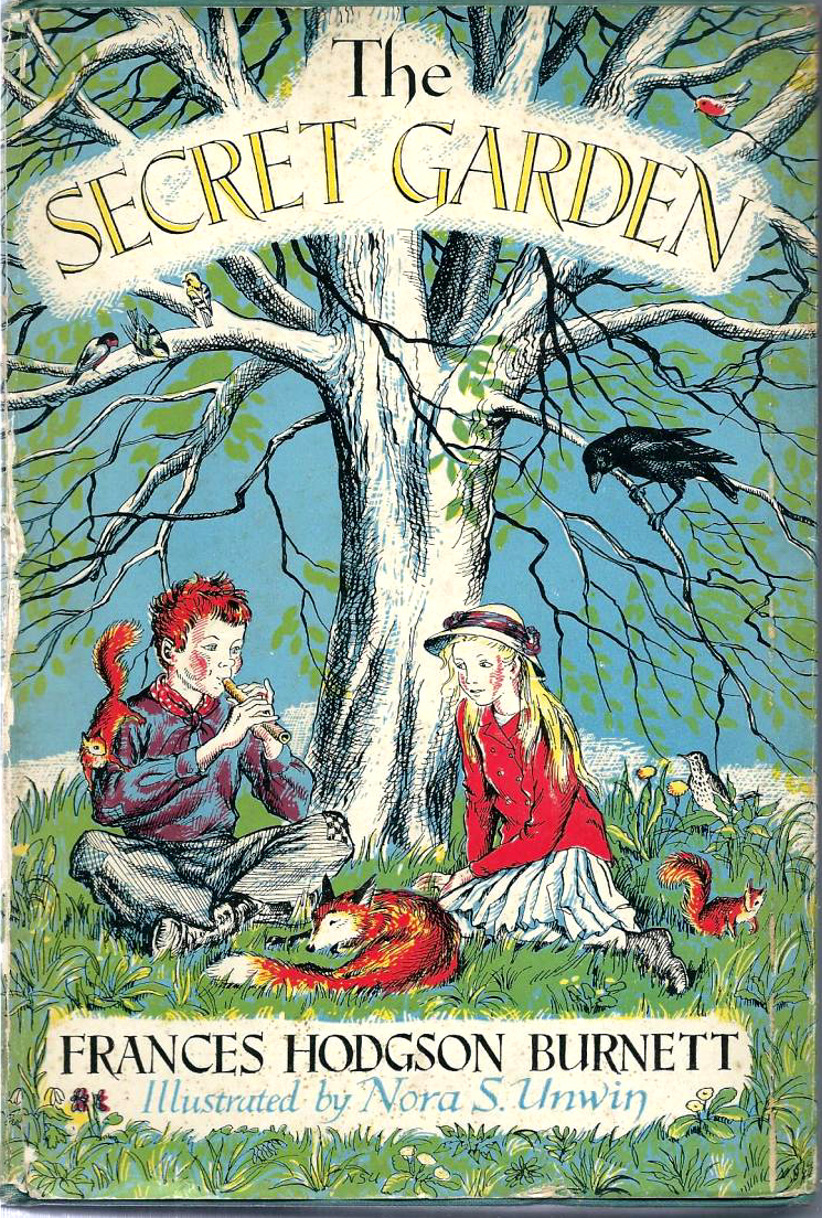 Secret Garden illustrated by Nora S Unwin | beautifulbooks.info