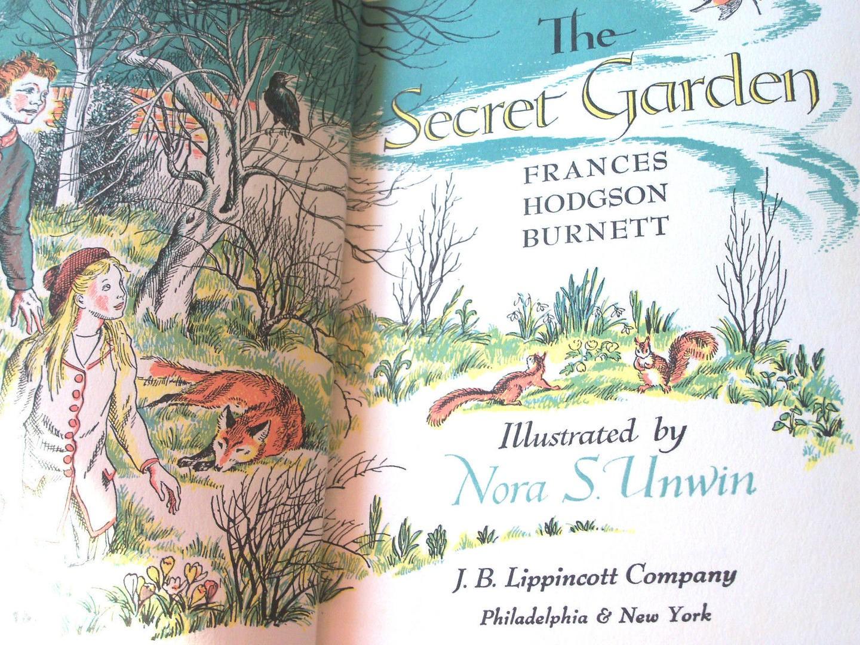 Secret Garden illustrated by Nora S Unwin | beautifulbooks.info