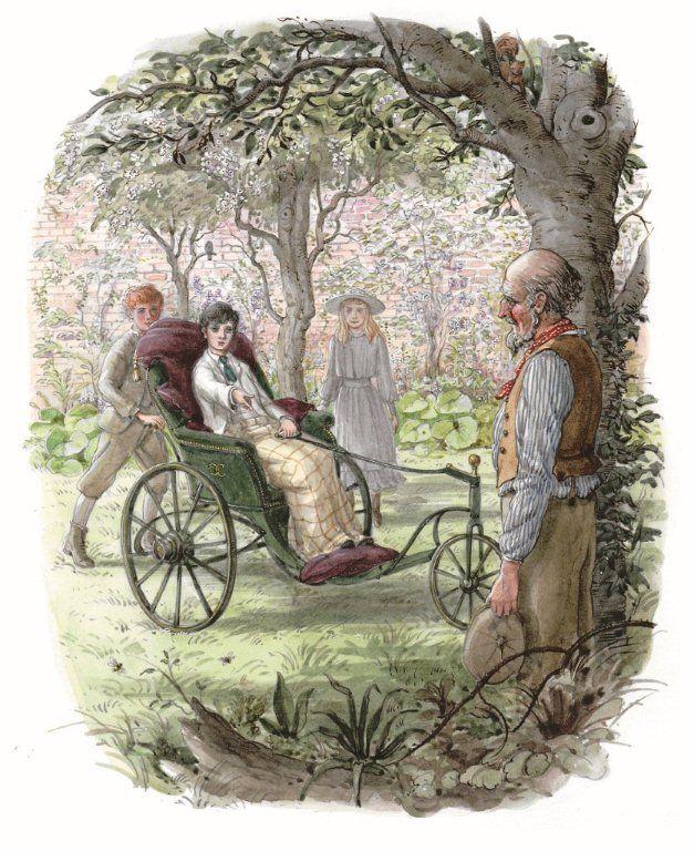 The Secret Garden illustrated by Graham Rust | beautifulbooks.info