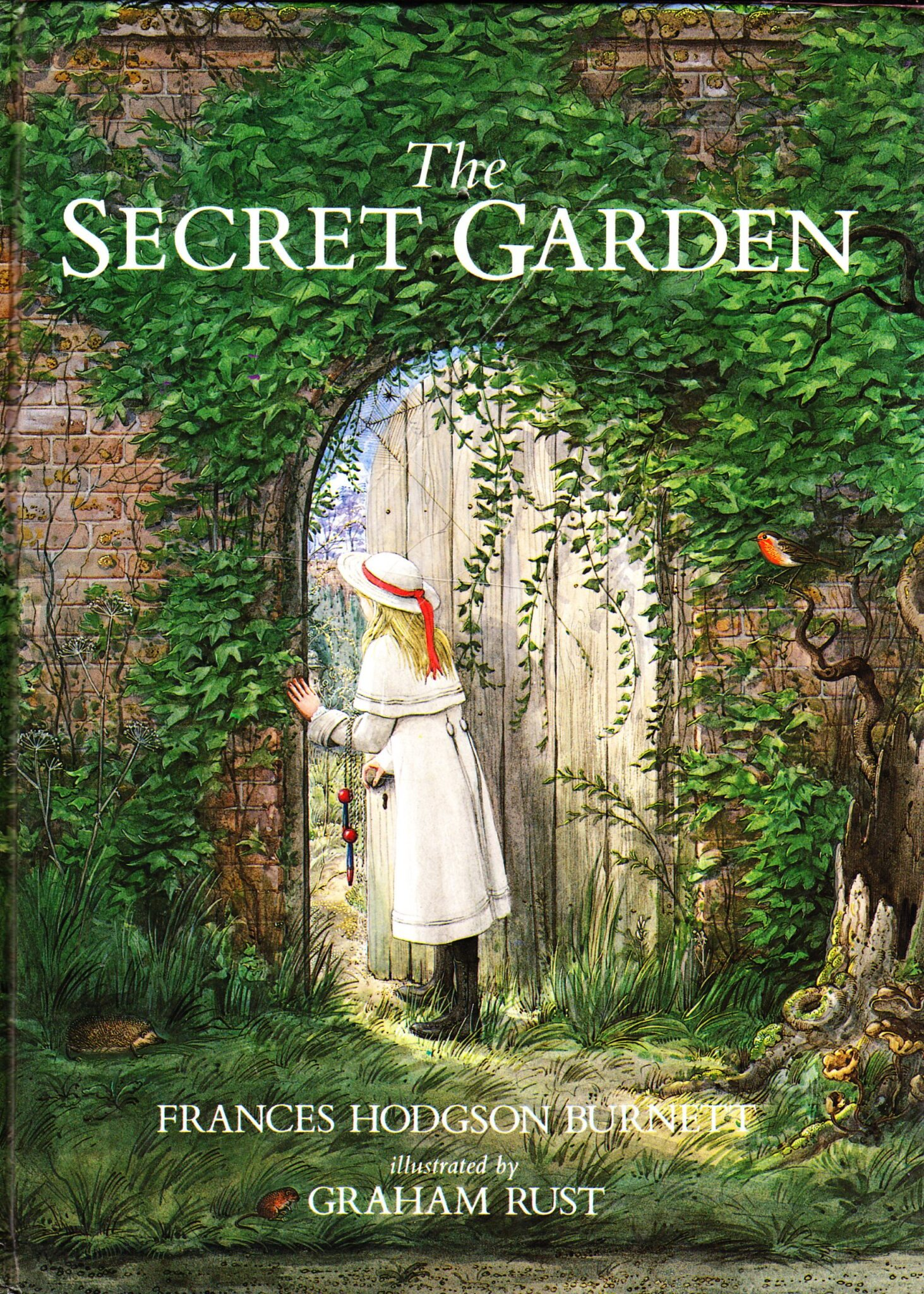 The Secret Garden illustrated by Graham Rust | beautifulbooks.info