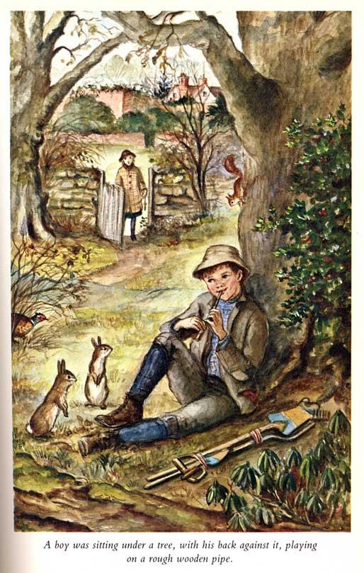 Secret Garden illustrated by Tasha Tudor | beautifulbooks.info