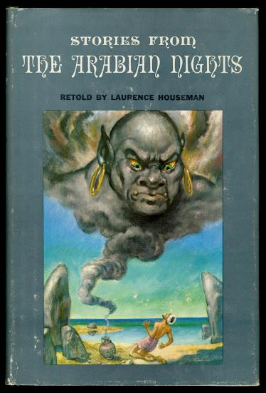 Junior Deluxe Editions Stories from the Arabian Nights 1955 DJ