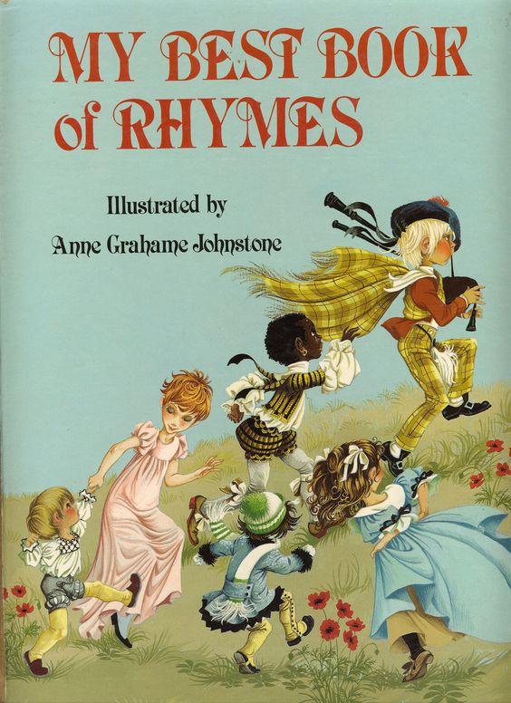 Anne Grahame Johnstone My Best Book of Rhymes
