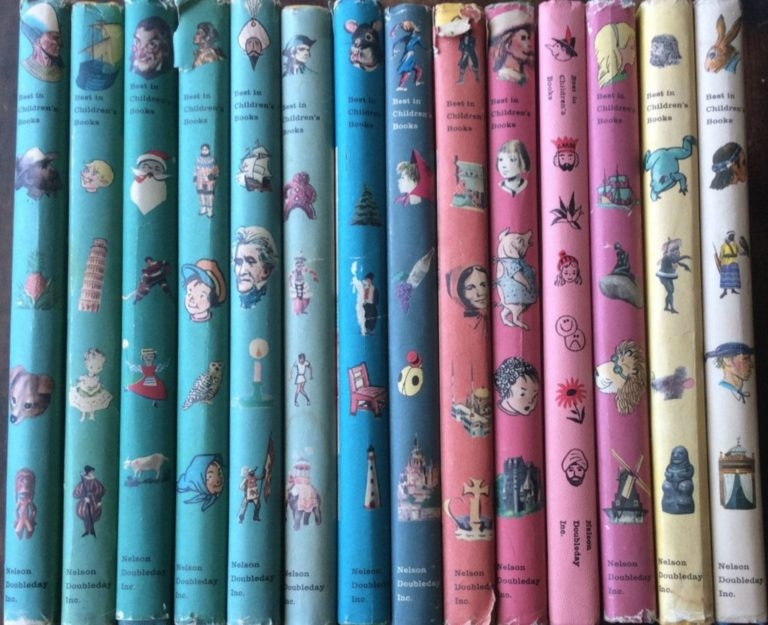 Best in Childrens Books Spines