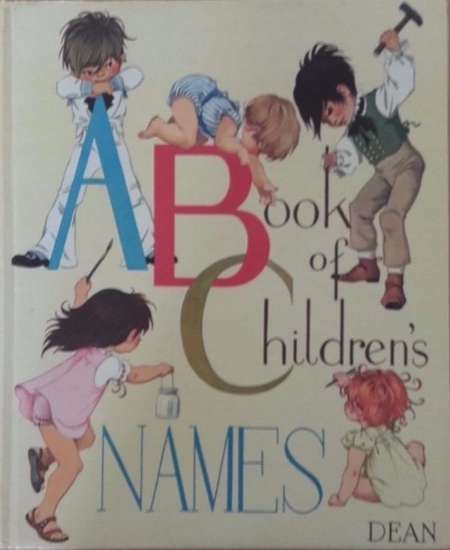 Janet Anne Grahame Johnstone ABC A Book of Childrens Names