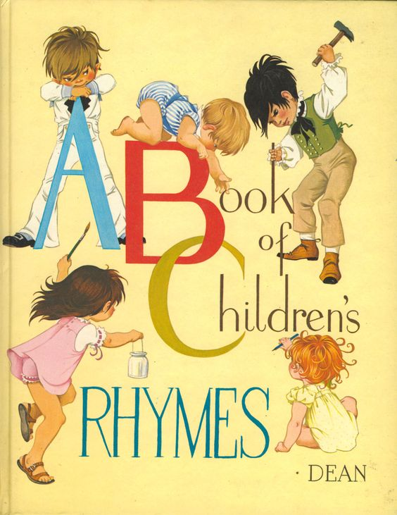 Janet Anne Grahame Johnstone ABC A Book of Childrens Rhymes