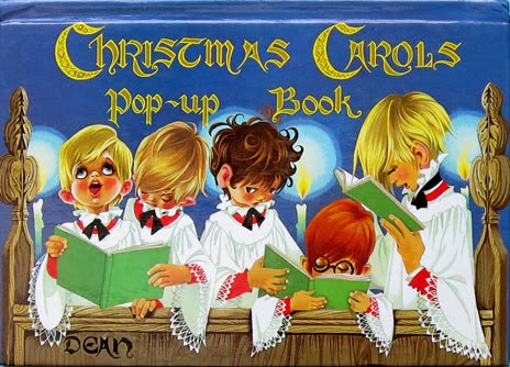 Janet Anne Grahame Johnstone Christmas Carols Popup Book