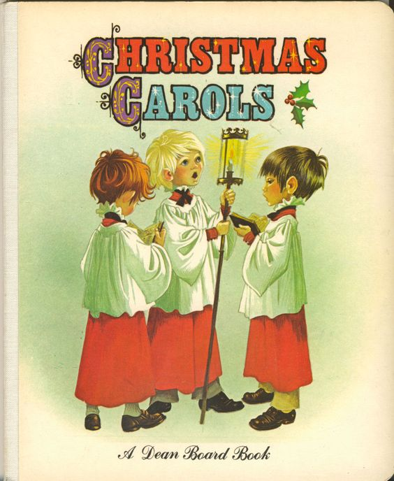 Janet Anne Grahame Johnstone Dean Board Book Christmas Carols
