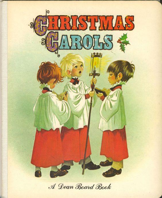 Janet Anne Grahame Johnstone Dean Board Book Christmas Carols