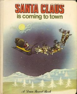 Janet Anne Grahame Johnstone Dean Board Book Santa Claus Is Coming To Town