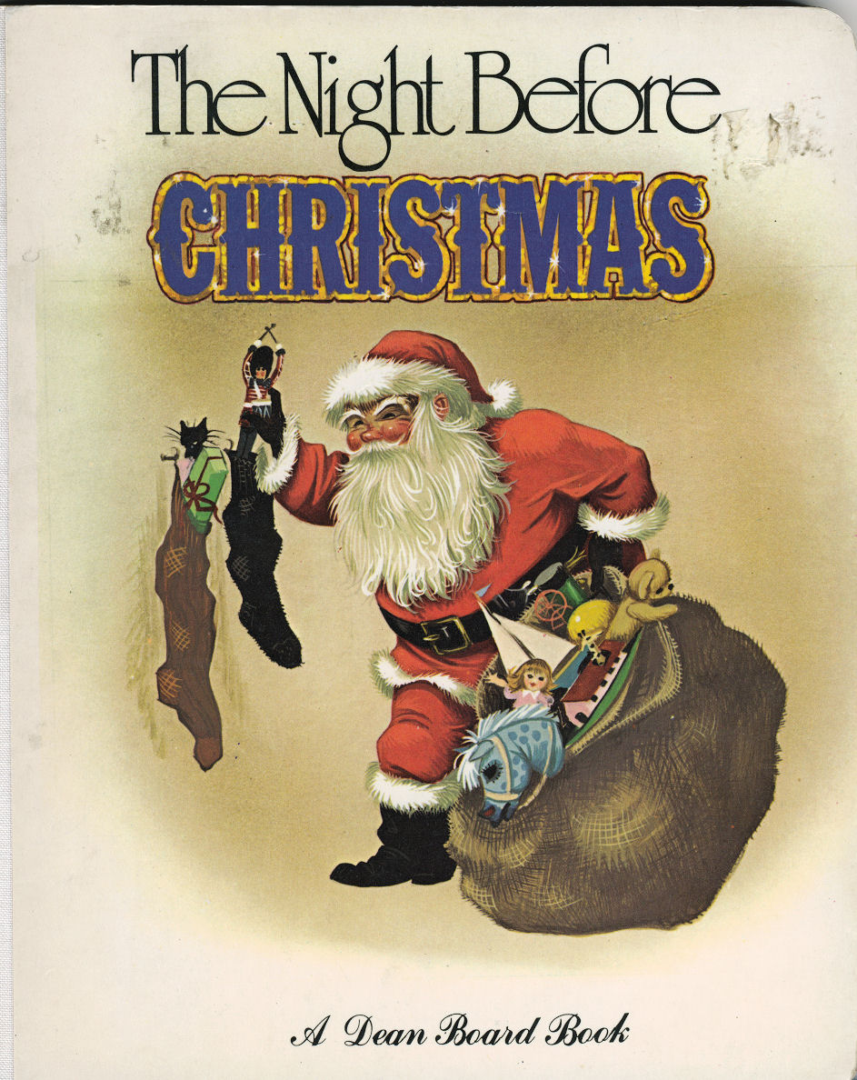 Janet Anne Grahame Johnstone Dean Board Book The Night Before Christmas