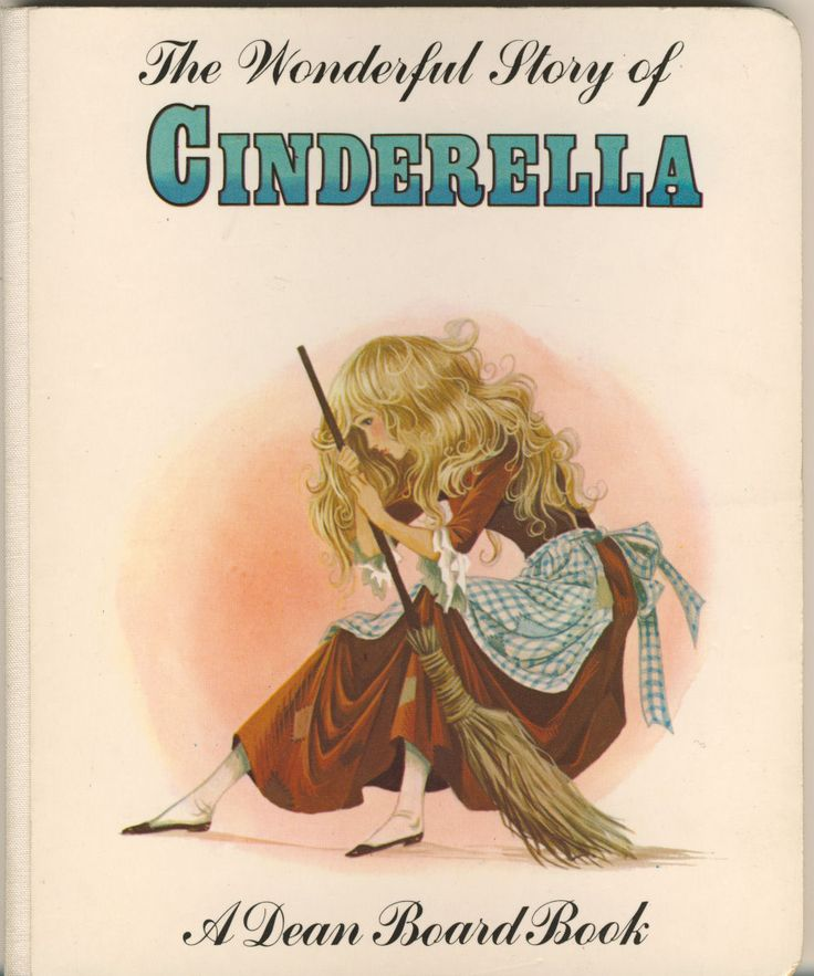Janet Anne Grahame Johnstone Dean Board Book The Wonderful Story of Cinderella