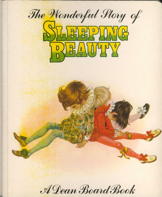 Janet Anne Grahame Johnstone Dean Board Book The Wonderful Story of Sleeping Beauty