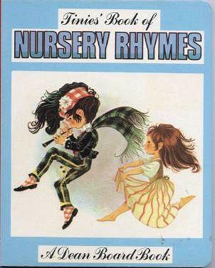 Janet Anne Grahame Johnstone Dean Board Book Tinies Book of Nursery Rhymes