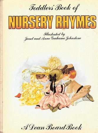 Janet Anne Grahame Johnstone Dean Board Book Toddlers Book of Nursery Rhymes