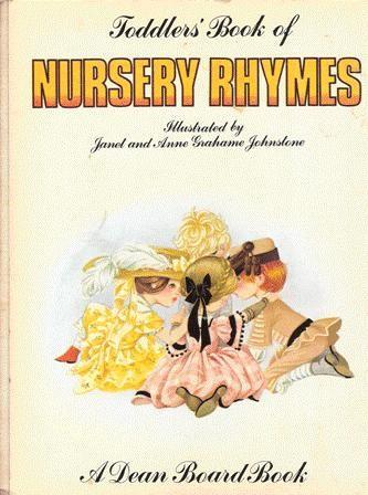 Janet Anne Grahame Johnstone Dean Board Book Toddlers Book of Nursery Rhymes