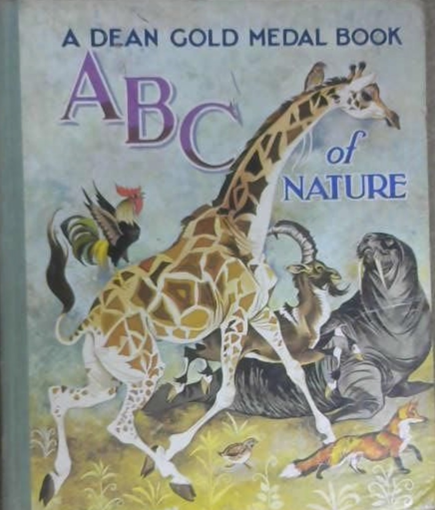 Janet Anne Grahame Johnstone Dean Gold Medal Book ABC of Nature