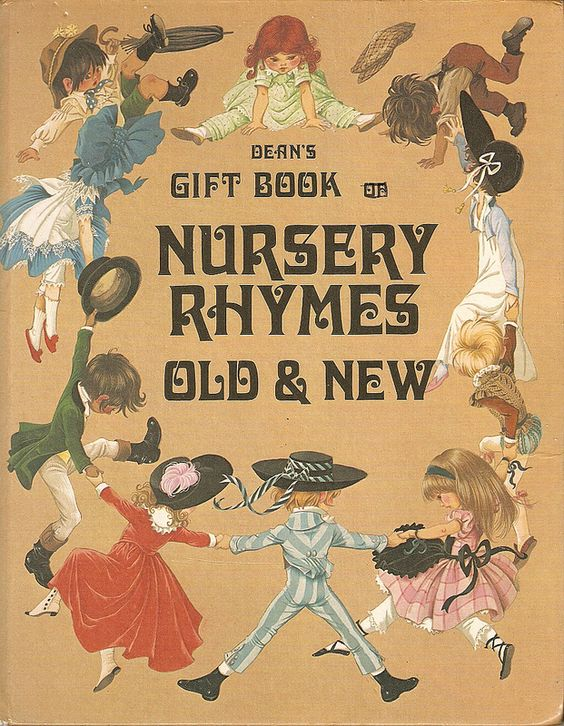 Janet Anne Grahame Johnstone Deans Gift Book of Nursery Rhymes Old New