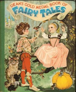 Janet Anne Grahame Johnstone Deans Gold Medal Book of Fairy Tales