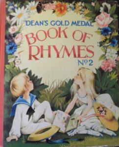 Janet Anne Grahame Johnstone Deans Gold Medal Book of Rhymes No 2