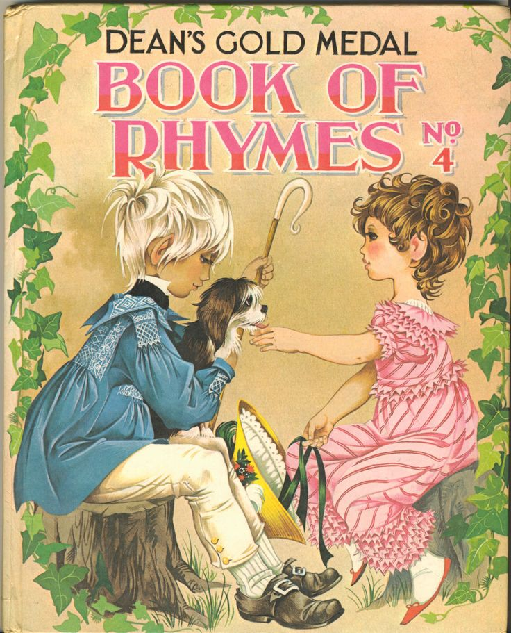 Janet Anne Grahame Johnstone Deans Gold Medal Book of Rhymes No 24