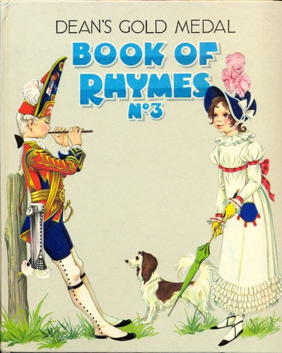 Janet Anne Grahame Johnstone Deans Gold Medal Book of Rhymes No 3
