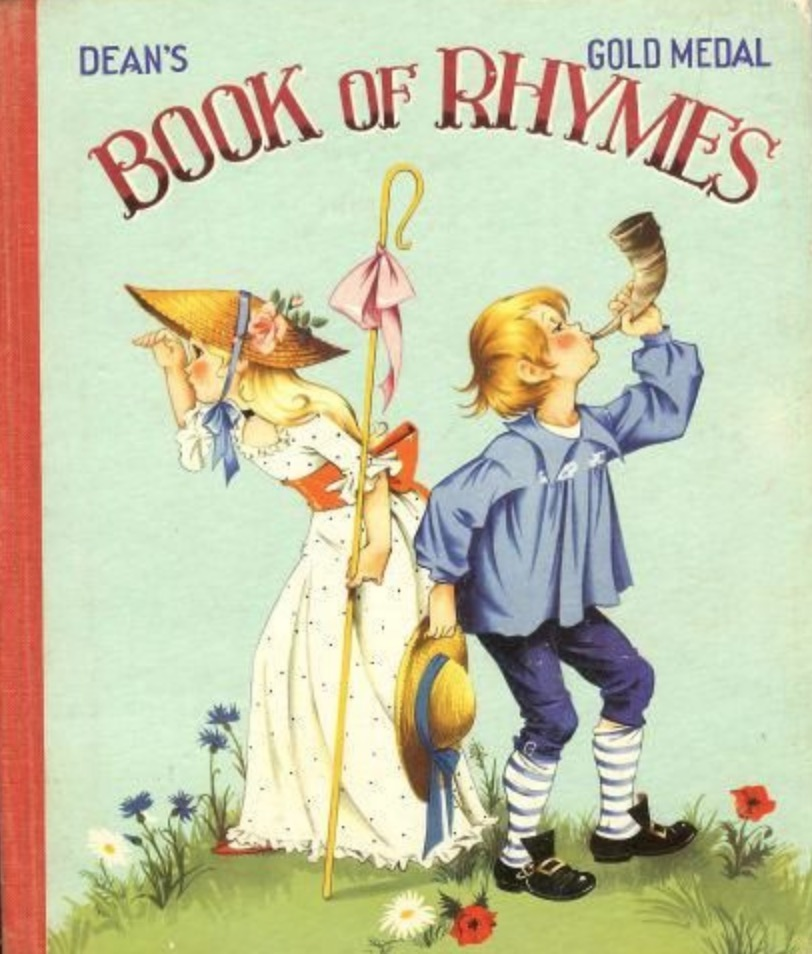 Janet Anne Grahame Johnstone Deans Gold Medal Book of Rhymes