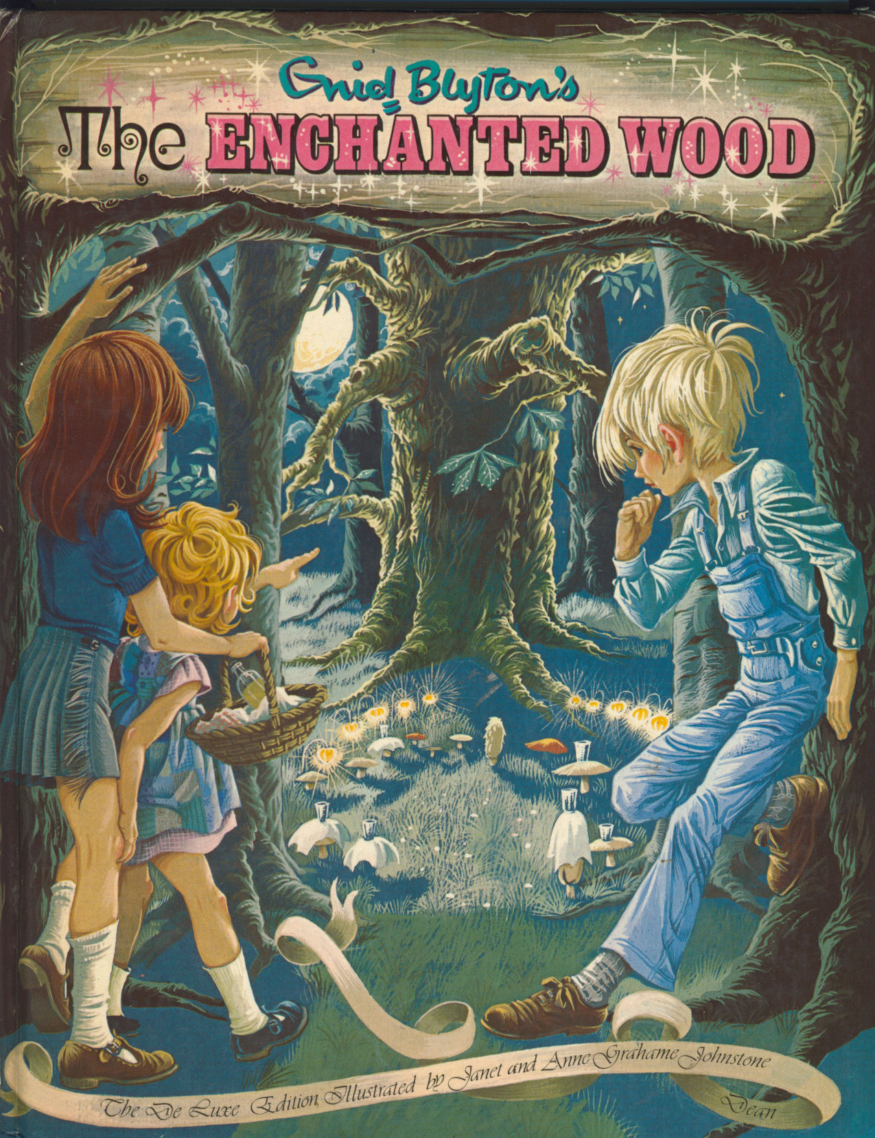 Janet Anne Grahame Johnstone Enid Blyton The Enchanted Wood deluxe