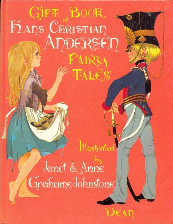 Janet Anne Grahame Johnstone Gift Book of Hans Christian Andersen Fairy Tales