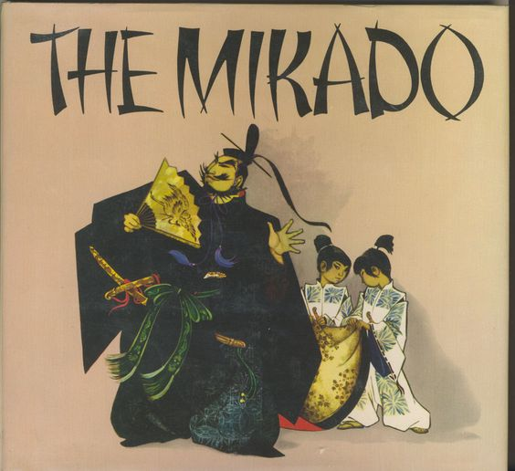 Janet Anne Grahame Johnstone Gilbert Sullivan The Mikado