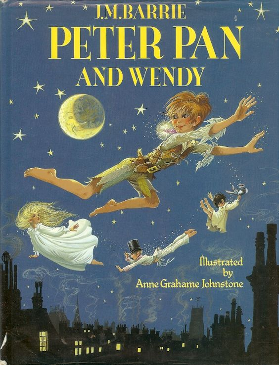 Janet Anne Grahame Johnstone JM Barrie Peter Pan and Wendy
