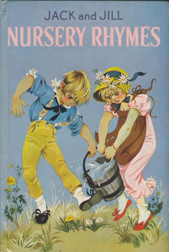 Janet Anne Grahame Johnstone Jack and Jill Nursery Rhymes