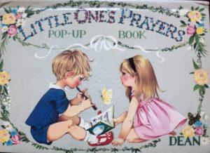 Janet Anne Grahame Johnstone Little Ones Prayers Pop up Book