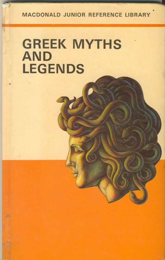 Janet Anne Grahame Johnstone Macdonald Junior Reference Library Greek Myths and Legends