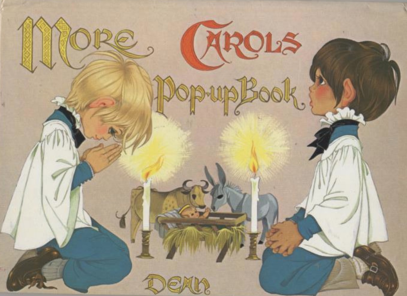 Janet Anne Grahame Johnstone More Carols Popup Book