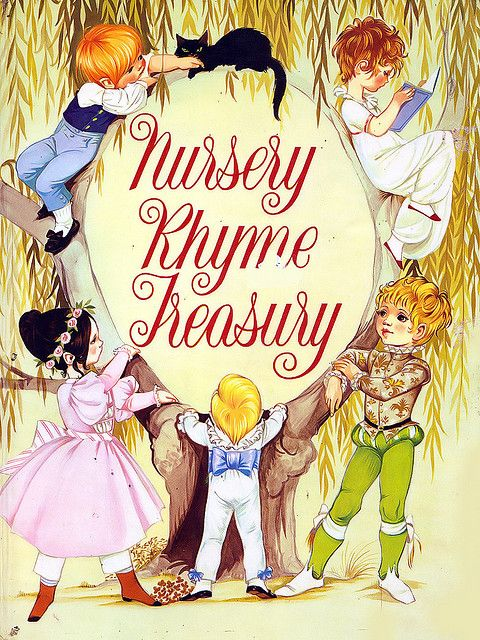 Janet Anne Grahame Johnstone Nursery Rhyme Treasury