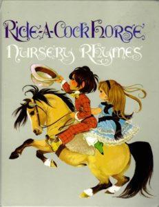 Janet Anne Grahame Johnstone Ride A Cock Horse Nursery Rhymes mini