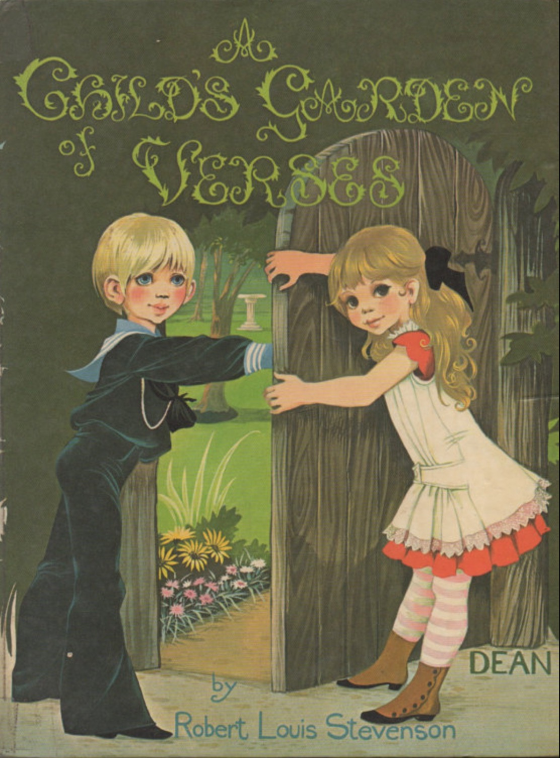 Janet Anne Grahame Johnstone Robert Louis Stevenson A Childs Garden of Verses