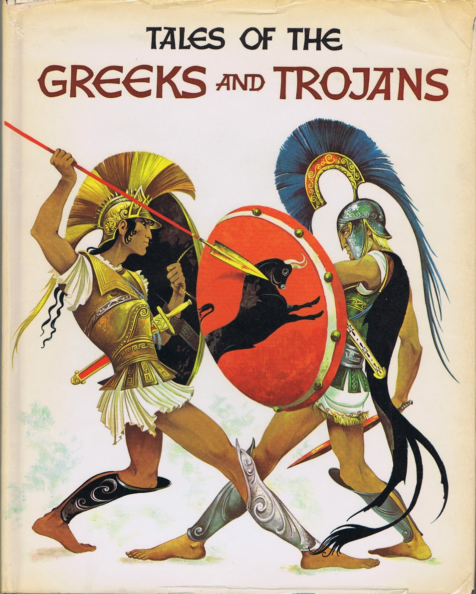 Janet Anne Grahame Johnstone Roger Lancelyn Green Tales of the Greeks and Trojans