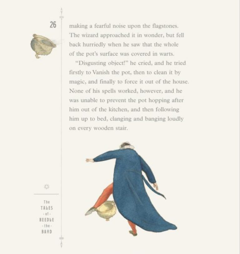 beedle the bard by jk rowling lisbeth zwerger sample page 6