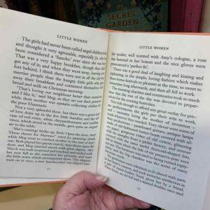 wordsworth collectors editions text closeup