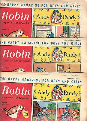 Grahame Johnstone Twins Robin Comics