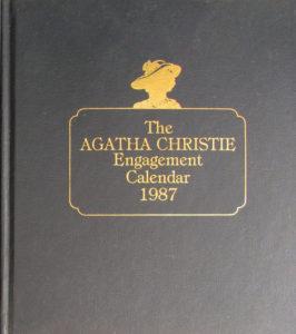 Bantam Agatha Christie 1987 Engagement Calendar web