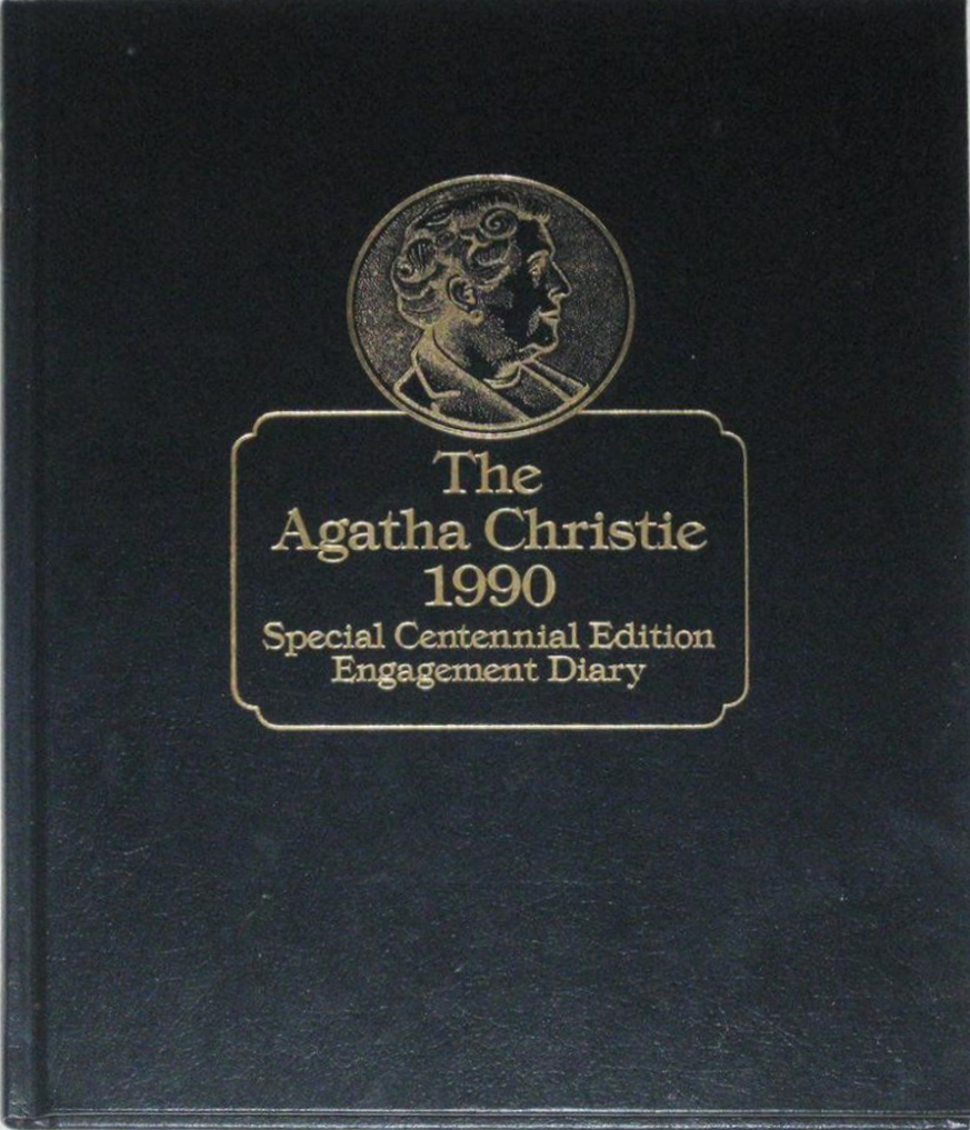 Bantam Agatha Christie 1990 Special Engagement Diary web