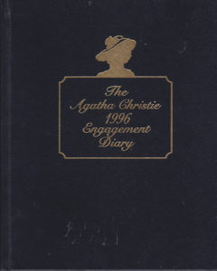 Bantam Agatha Christie 1996 Engagement Diary web
