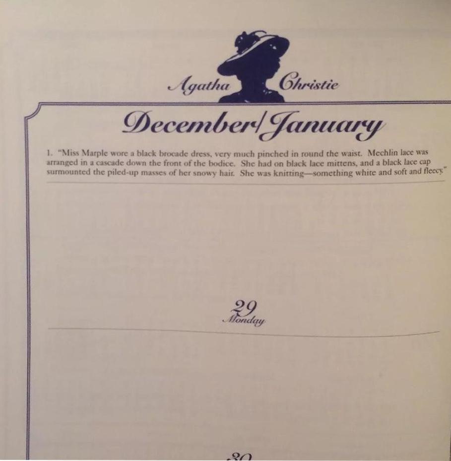 Bantam Christie Engagement Diary int 2 web