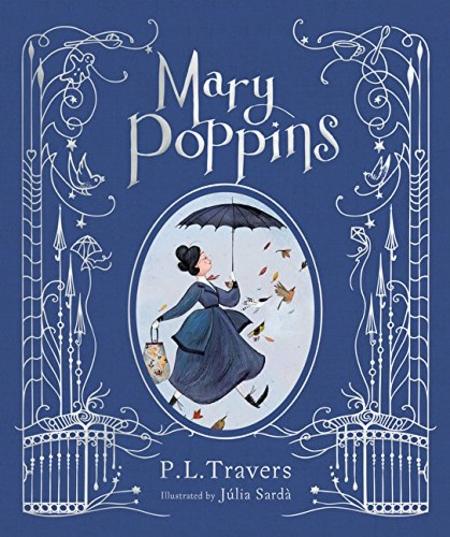 PL Travers Mary Poppins Julia Sarda cover